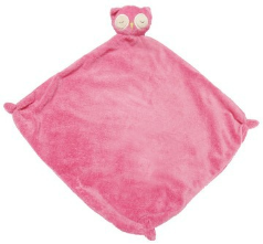 Angel Dear™ Blankie - Owl - Pink