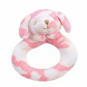 Angel Dear™ Ring Rattle - Puppy - Camo - Pink