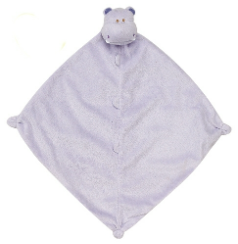 Angel Dear™ Blankie - Hippo - Purple