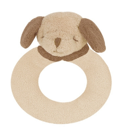 Angel Dear™ Ring Rattle - Puppy