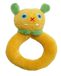 Angel Dear™ Ring Rattle - Monster - Yellow