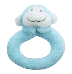 Angel Dear™ Ring Rattle - Monkey - Blue