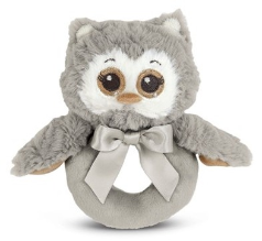 BEARINGTON BABY® Lil' Owlie Ring Rattle
