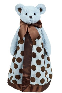 BEARINGTON BABY® Blue Posh Dots Snuggler