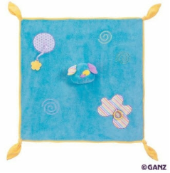GANZ® Candy Stripe Puppy Blanket