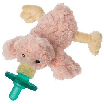 WubbaNub™ Pacifier - Blush Putty duck