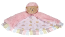 GANZ® Pink Hedgehog Mini Blankie (SKU: BG3767)