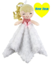 GANZ® White Baby Doll Mini Blankie (SKU: BG3955W)