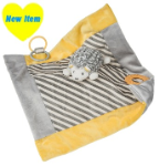 MARY MEYER™ Hedgehog Activity Blanket (SKU: MM43035)