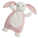 MARY MEYER™ Pink Dot Bunny Lovey (SKU: MM67202PK)