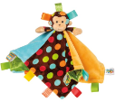 Taggies™ Dazzle Dots Monkey Character Blanket (SKU: TG39315)