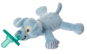 WubbaNub™ Blue Puppy Pacifier (SKU: WN42021)