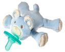 WubbaNub™ Blue Thready Teddy Pacifier (SKU: WN41051)