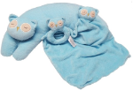 ANGEL DEAR™ 3 PC Owl Set - Blue