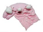 ANGEL DEAR™ 3 PC Giraffe Set - Pink