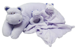 ANGEL DEAR™ 3 PC Hippo Set - Purple