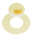Angel Dear™ Ring Rattle - Duck (SKU: AD1600)