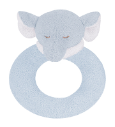 Angel Dear™ Ring Rattle - Elephant - Blue (SKU: AD1609)