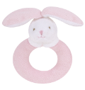 Angel Dear™ Ring Rattle - Bunny - Pink (SKU: AD1616)