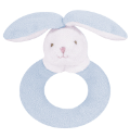 Angel Dear™ Ring Rattle - Bunny - Blue (SKU: AD1617)
