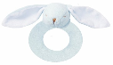Angel Dear™ Ring Rattle - Bunny - Blue (SKU: AD1617B)