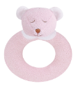 Angel Dear™ Ring Rattle - Bear - Pink (SKU: AD1644)