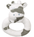 Angel Dear™ Ring Rattle - Cow (SKU: AD1646)