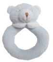 Angel Dear™ Ring Rattle - Bear - Blue (SKU: AD1675)