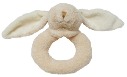 Angel Dear™ Ring Rattle - Bunny - Beige (SKU: AD1685)