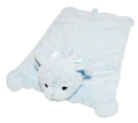 BEARINGTON Baby® Blue Huggie Bear Belly Blanket (SKU: BBBB196250)