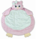 BEARINGTON Baby® Lil' Hoots Belly Blanket (SKU: BBBB196750)