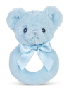 BEARINGTON BABY® Blue Huggy Bear Ring Rattle (SKU: BBRR196270)
