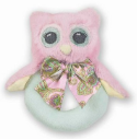 BEARINGTON BABY® Lil' Hoots Ring Rattle (SKU: BBRR196720)