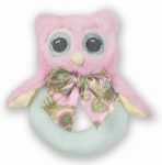 BEARINGTON BABY® Lil' Hoots Ring Rattle