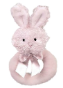 BEARINGTON BABY® Lil' Bunny Ring Rattle (SKU: BBRR197100)