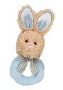 BEARINGTON BABY® Lil' Bunny Tail Ring Rattle (SKU: BBRR197570)