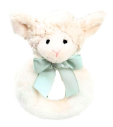 BEARINGTON BABY® Lamby Ring Rattle (SKU: BBRR197700)