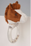 DOUGLAS® Ring Rattle - Spotted  Horse