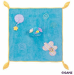 GANZ® Candy Stripe Puppy Blanket (SKU: BG2105)