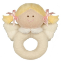 GANZ® Heaven Sent Blonde Angel Rattle (SKU: BGR3552BL)