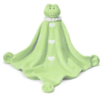 GANZ® Mini Wrap Blanket - Green Frog