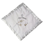 "MARY MEYER™ ""God Bless"" Christening Cozy Blanket"
