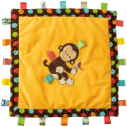 Taggies™ Dazzle Dots Monkey Cozy Security Blanket (SKU: TG39316)
