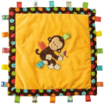 Taggies™ Dazzle Dots Monkey Cozy Security Blanket