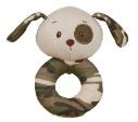 GANZ® Rattle - Green Camo Dog (SKU: BG3675)